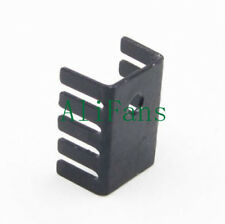 10PCS TO-220 Heat Sink Black 19x15x10mm Aluminum for LED Power Transistors AU