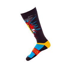 CALZE MTB ENDURO O`Neal Pro MX Sock BRAAAPP black/multi (One Size-Taglia Unica)