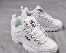 2020 FILA Uomo Donna Sneakers Disruptor II 2 All Bianco Scarpe Unisex Sneakers