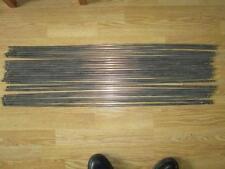"22 Original Victorian/Edwardian Copper Stair Rods Acorn Finials 34"" long"