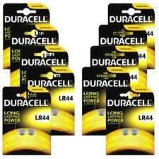 20x Duracell LR44 Long Lasting Alkaline Batteries 1.5v Coin Button Cell Battery