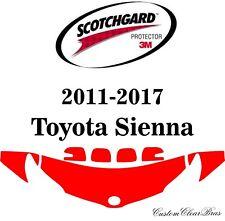 3M Scotchgard Paint Protection Film 2011 - 2014 2015 2016 2017 Toyota Sienna