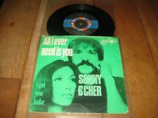 Sonny & Cher.A.All i ever need is you.B.I got you babe.(3245)