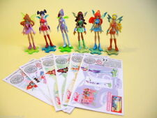 KINDER FERRERO SURPRISE FIGURE CARTINE SERIE WINX CLUB FAIRIES 2006 PRINCESS RAR