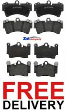 For Audi Q7 3.0 TDI Quattro S Line 06-11 Front & Rear Brake Pads Set *NEW*