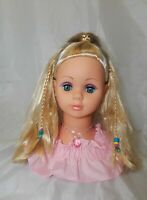 """Vintage Makeup & Hairstyling Doll  11"""" Tall"""