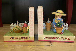 Vintage Mary Engelbreit Bookends 2000 Mothers