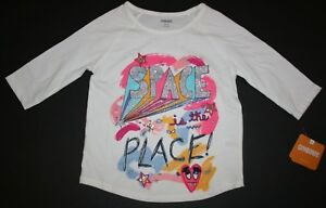 NEW Gymboree Girls 4 5 6 7 8 14 Year Space Is The Place Top Tee Cosmic Club