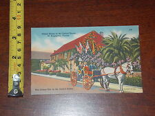 POSTCARD OLDEST HOUSE IN THE UNITED STATES ST AUGUSTINE FLORIDA