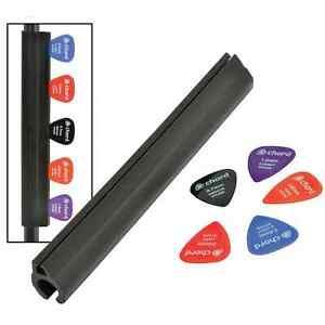 CHORD PSP5 MICROPHONE STAND PLECTRUM HOLDER WITH 5 PLECTRUMS Free Shipping UK