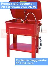 Vasca di Lavaggio Lavapezzi 90 L con Pompa 26 W 20 Litri/minuto!  Vassoio Rimov