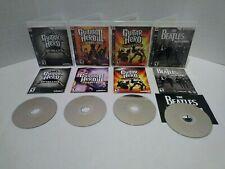 Guitar Hero Metallica III 3 Legends of Rock World Tour RockBand Beatles PS3 Lot