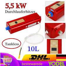 Mini Klein Durchlauferhitzer Sofortige Elektronisch Tankless 5,5 kW Einstellbar
