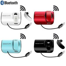 Wireless Bluetooth Earphone Headset Handsfree Car Kit Usb Charging Magnetic
