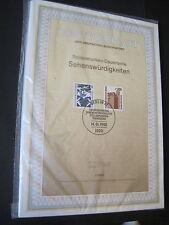 Berlin Ersttagblätter 1-17  Jahrgang 1988 komplett MiNr.798-829