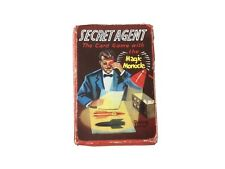 Secret Agent Vintage Card Game - Pepys - 1950s - With Rules