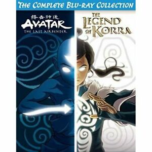 AVATAR THE LAST AIRBENDER + THE LEGEND OF KORRA COMPLETE BLU-RAY COLLECTION NEW!
