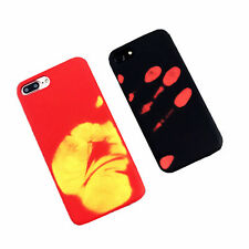 Heat Sensitive Color Changing Hard Case Cover for iPhone 5 5S SE 6/6s/7/7 plus