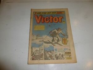 VICTOR Comic - Issue 1164 - Date 11/06/1983 - UK Paper Comic