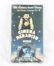 Cinema Paradiso [Vhs 1990] English Subtitles Sealed
