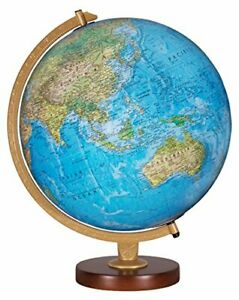 Replogle Livingston Illuminated Desktop Globe, Blue