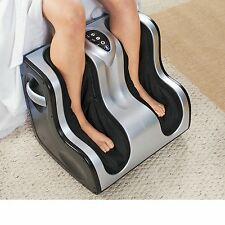US Jaclean Shiatsu Leg Foot Calf Massager with Heat Theraphy USJ-719 New