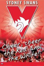 AFL Sydney Swans Logo POSTER 60x90cm NEW * aussie rules footy football team