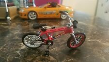 Redline Finger Bike, Red with xtra wheels, used