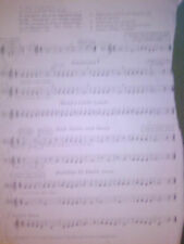Vintage sheet music for a vairiety of beginner instruments