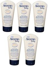 Aveeno Baby Soothing Relief Moisture Cream 5Oz (Pack of 5)