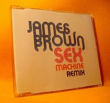 NEW MAXI Single CD James Brown Sex Machine Remix 3TR 2006 Soul, Funk RARE !
