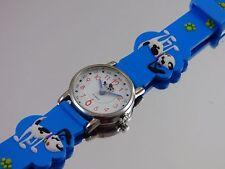 Kinderuhren für Jungen & Mädchen 3D Armband Uhr Hund Hundefreunde Kinderuhr NEU