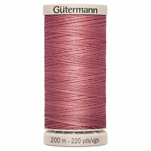 Gutermann Hand Quilting thread 200m 100% cotton Pink - 2346
