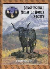 2017 Congressional Medal of Honor Society Magazine 94 pages CARTER Autographed