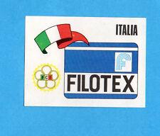 SPRINT '74-PANINI-Figurina n.43- FILOTEX ITALIA - STEMMA/BADGE -Recuperata