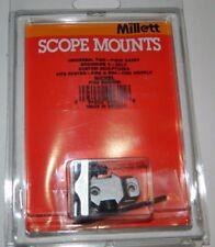 NEW Millett Scope Mounts 2-Piece Nickel Riflescope Base Browning A-Bolt BB00905