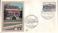 FDC ITALIA PRIMO GIORNO DI EMISSIONE 1984 VILLA DORIA PAMPHILI GENOVA 7-33
