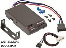 95-09 DODGE RAM DRAWTITE ACTIVATOR TRAILER BRAKE CONTROL +2PLUG WIRING + BRACKET