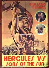 "Hercules vs. the Sons of the Sun Giuliano Gemma 40x27"" Lebanese Movie Poster 60s"