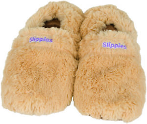 Slippies deluxe creme, Größe L, Warmies Neu, Wärme und Kältetherapie