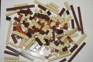 Lego BULK 179 BROWN narrow Building Bricks / Blocks House / Castle (L11) GENUINE