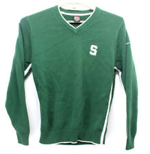 Vintage Big S Nike Michigan State Spartans Sweater Size Mens Small