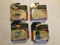 Star Wars Rise of Skywalker Starships Hot Wheels Lot of 4 NIB