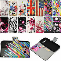 Flip Stand PU Leather Card Wallet Case Cover For Samsung Galaxy Core Prime G360