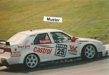 AUTOGRAMM auf Foto 13x18 cm DTM 1994 Franz Engstler - Alfa Romeo 155 V6 Ti
