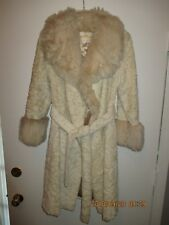 Women's Vintage Clothing The Parisian Fur Coat w Different Fur Cuffs & Collar