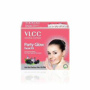 VLCC Party Glow Facial Kit 60g All Skin Types Soft And Smooth Skin