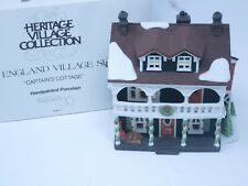 Department 56 New England Village Captains Cottage #5947-1 Euc