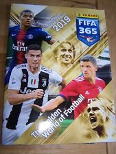 Complete set of Panini FIFA 365 2019 Stickers and Album