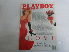 PLAYBOY FEBRUARY 1989 LOVE SPECIAL ISSUE MAKING OUT SIMONE EDEN RIOS GRAND (616)